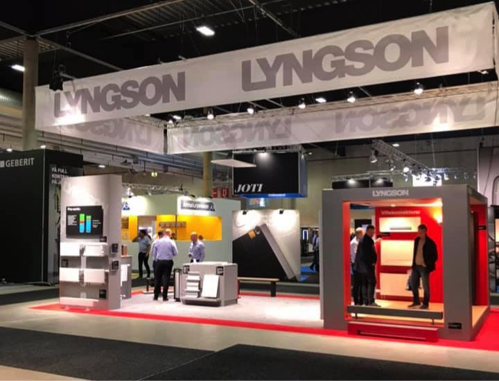 Lyngson var godt representert på VVS DAGENE