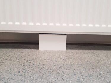 Rørskjuler for Lyngson radiatorer